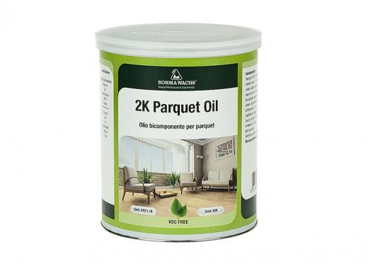 2-х компонентное паркетное масло с твёрдым воском (HARDWAX PARQUET OIL 2K)