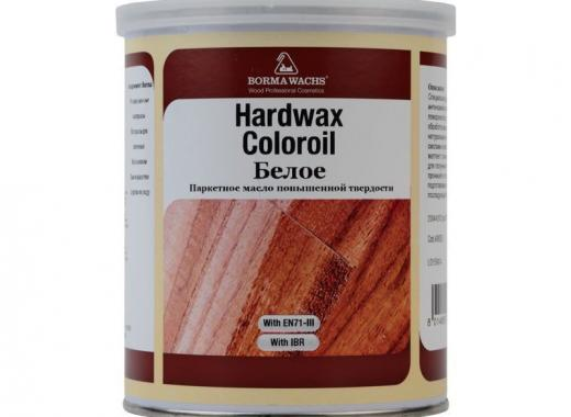 Масло с твёрдым воском БЕЛОЕ (HARDWAX COLOR OIL WHITE)