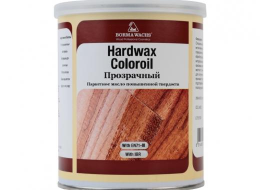 Масло с твёрдым воском ПРОЗРАЧНОЕ (HARDWAX COLOR OIL TRANSPARENT)