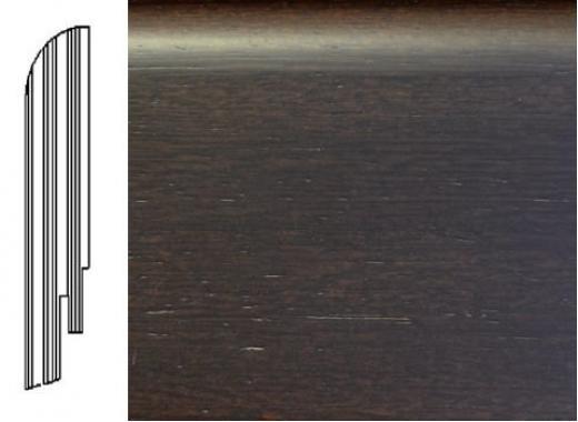 ПЛИНТУС ШПОНИРОВАННЫЙ DL PROFILES 8 ВЕНГЕ НАТУР СВЕТЛЫЙ 2400X60X16