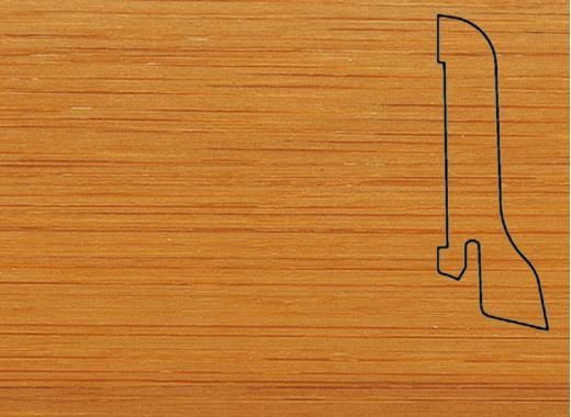Плинтус Бамбук темн. 2500х60х22мм