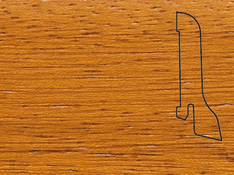 Плинтус Ироко 2500х60х22мм