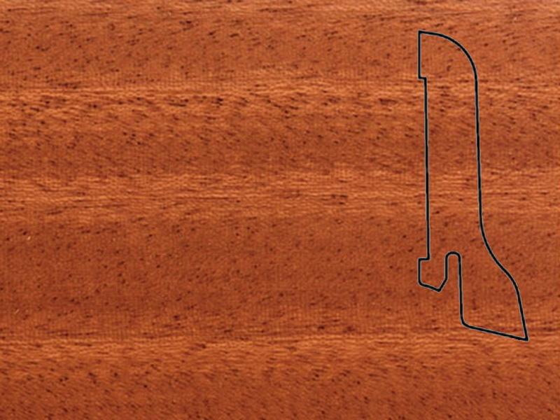 Плинтус Махагон 2500х60х22мм